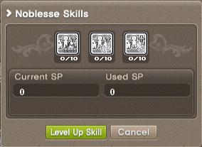 Guild Noblese skill