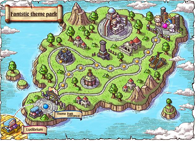 Fantastic theme park