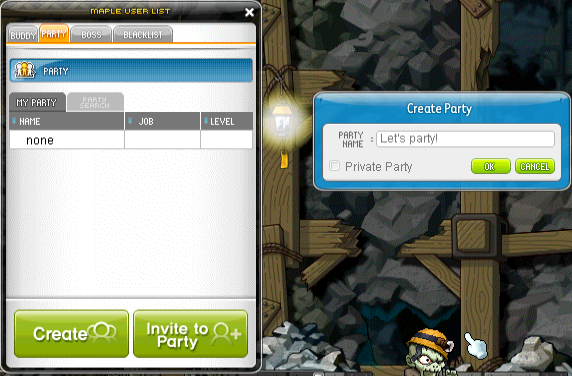 party ui
