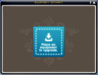 Enhance Equip UI