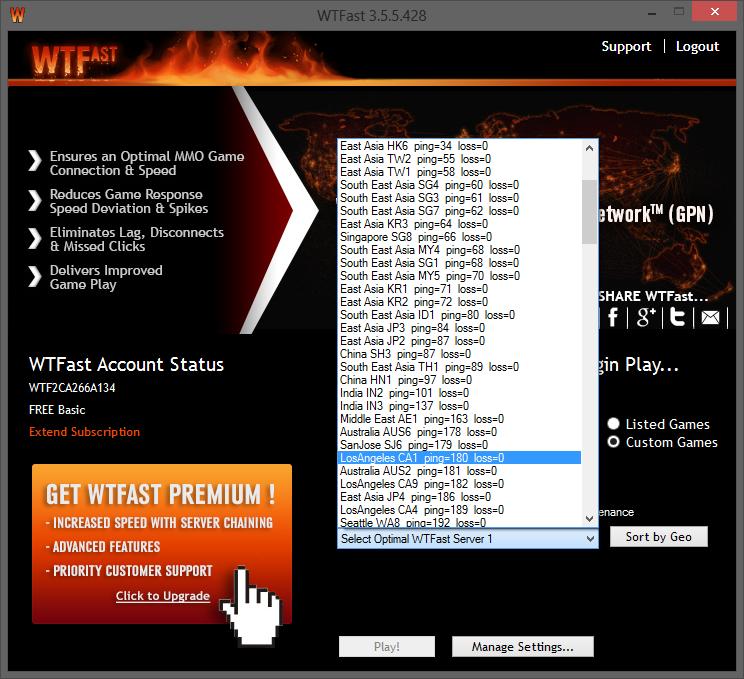 select server